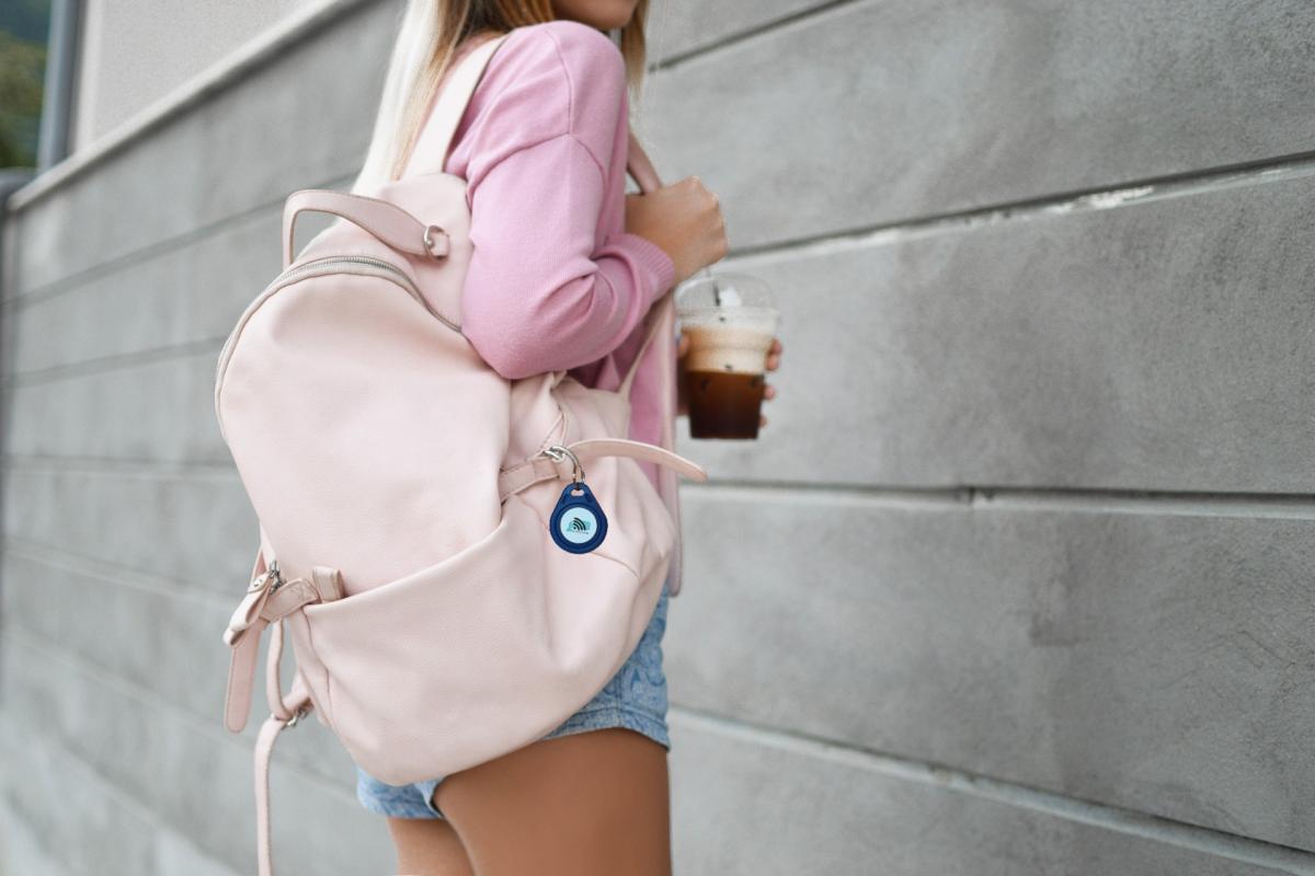 NFC Anhänger für Rucksäcke, Reisetaschen uvm.